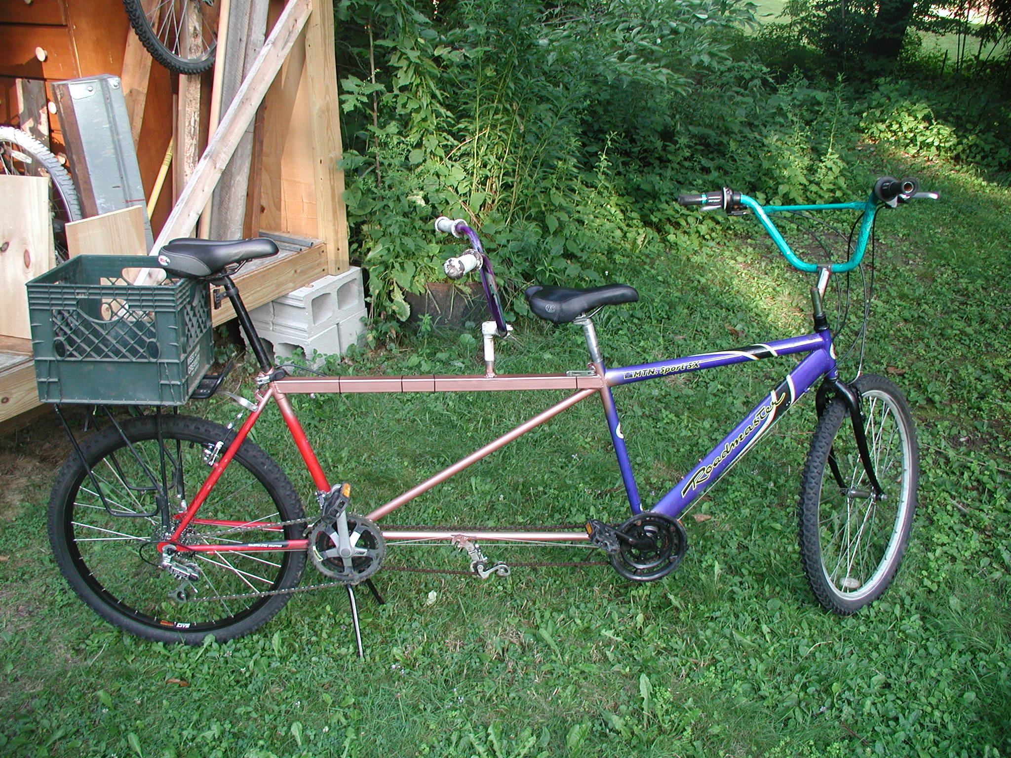 How to make a bike tandem do it yourself 66