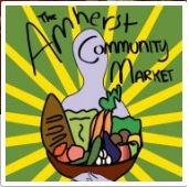 Amherst Community Market We envision a community in which fresh, locally harvested, and sustainably grown foods are accessible year-round to persons of all backgrounds and abilities.